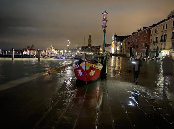 Venezia, anziano fulminato a Pellestrina
