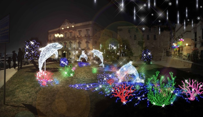 Natale: Luminarie d'Artista a Taranto - Agenzia ANSA
