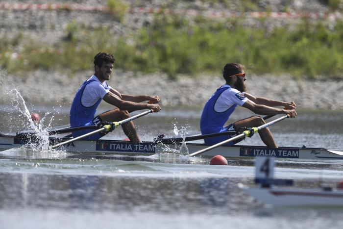 Italia bronzo nel doppio pesi leggeri uomini