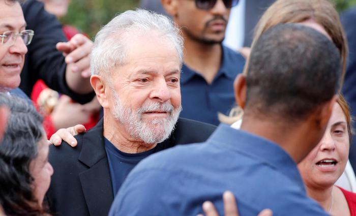 Lula libero, 'più a sinistra di prima'