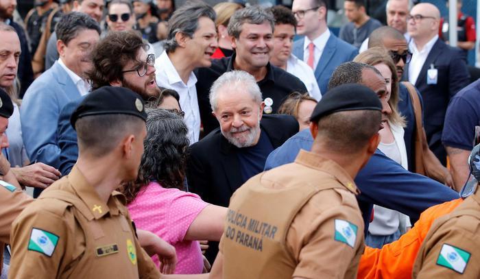 Sinistra mondiale celebra rilascio Lula