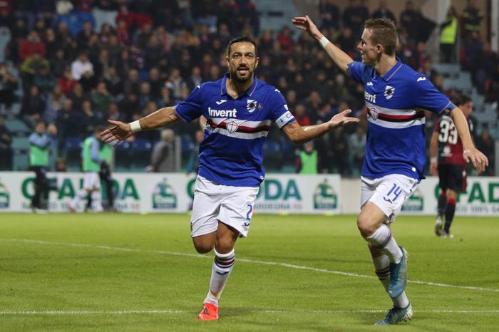 Calcio: Sampdoria rientrata oggi causa nebbia a Cagliari