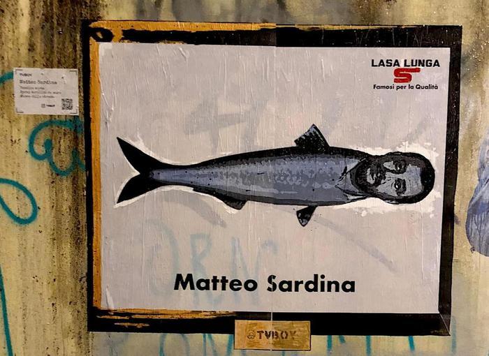 Milano, spunta il Salvini-Sardina