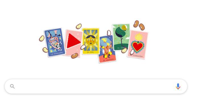 "Google dedica il doodle alla ""Loteria Mexicana"""