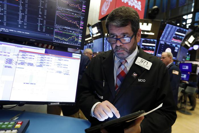Wall Street chiude in calo, Dj -0,38%