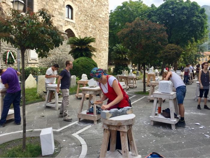 Carrara, festival per la città del marmo - Arte