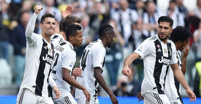 Scudetto alla Juventus, è l'ottavo di fila. Ronaldo: 'Grande stagione, resto al mille per cento' D2bb08c128babb1d6f7f26f420cf608c