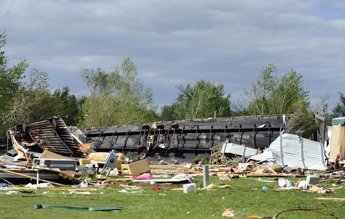 Usa: Tornado Sul Kansas, 12 Feriti