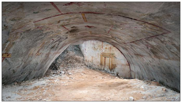 Sphinx Room at Nero's Domus Aurea re-emerges after 2,000 yrs