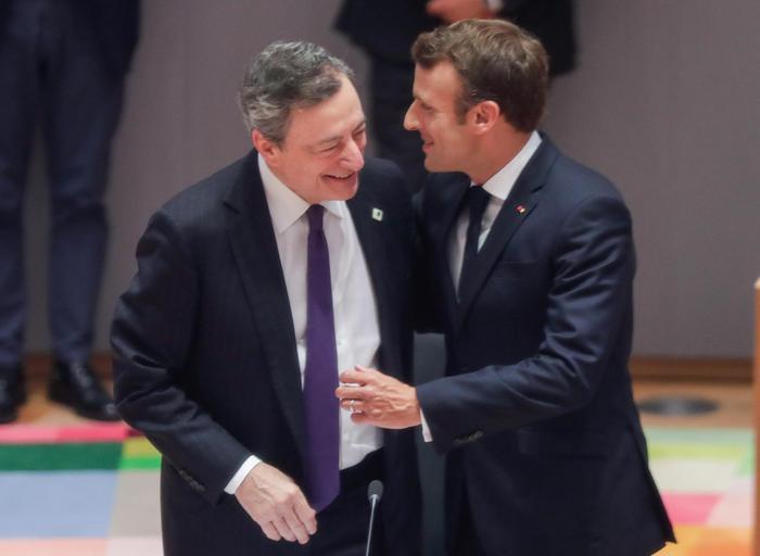 Macron, Draghi? Azione e coraggio