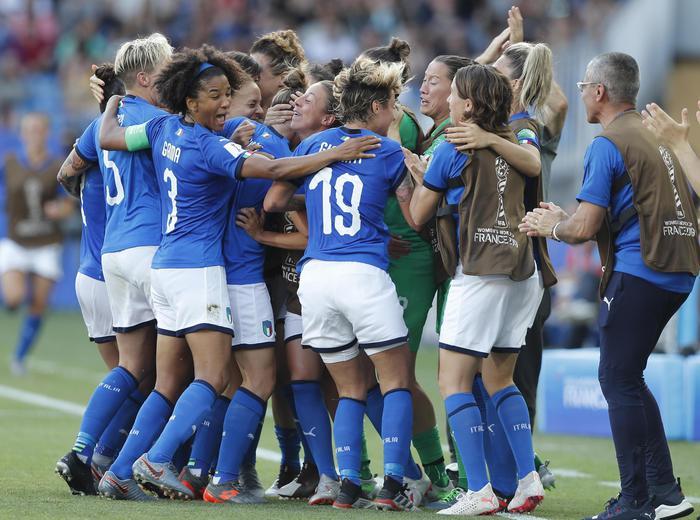 Mondiali donne: Italia Cina 2-0, azzurre ai quarti