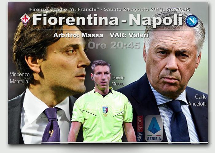 Serie A: Fiorentina Napoli, probabili formazioni