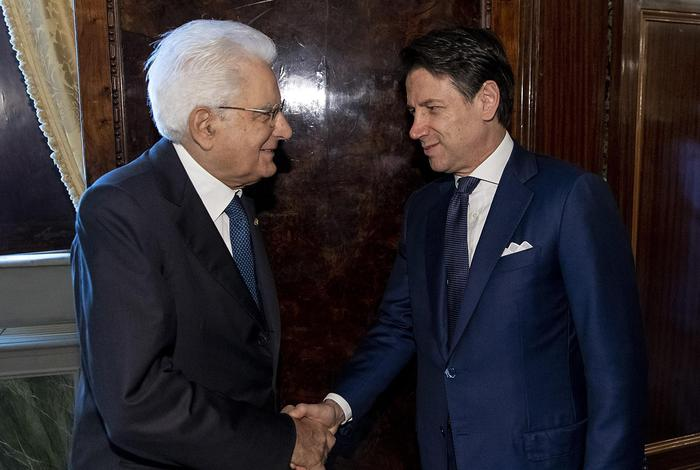 Mattarella gives Conte mandate - English