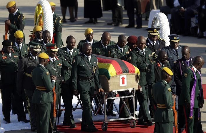 'Mugabe sarà sepolto nel suo villaggio'