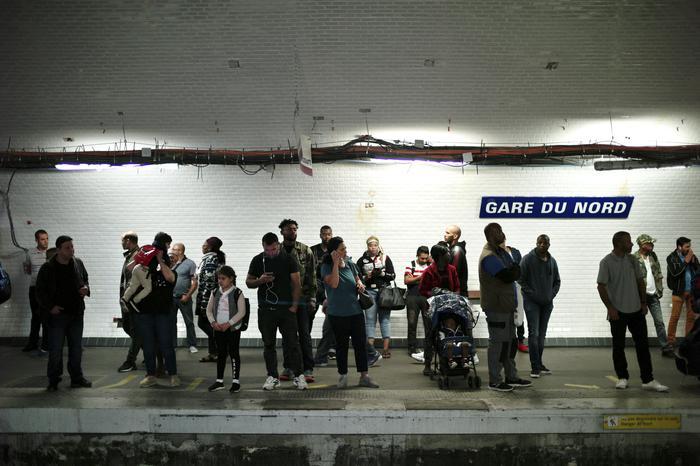 Giornata nera dei trasporti a Parigi