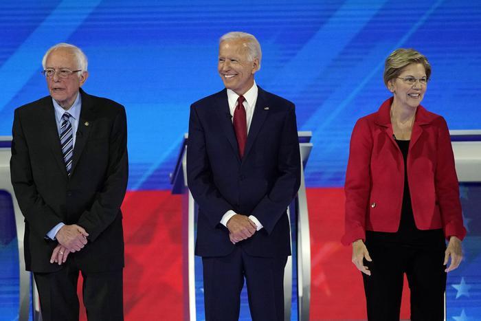 Usa 2020: Warren e Sanders contro Biden