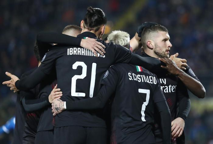Serie A: Brescia Milan 0-1, a segno Rebic