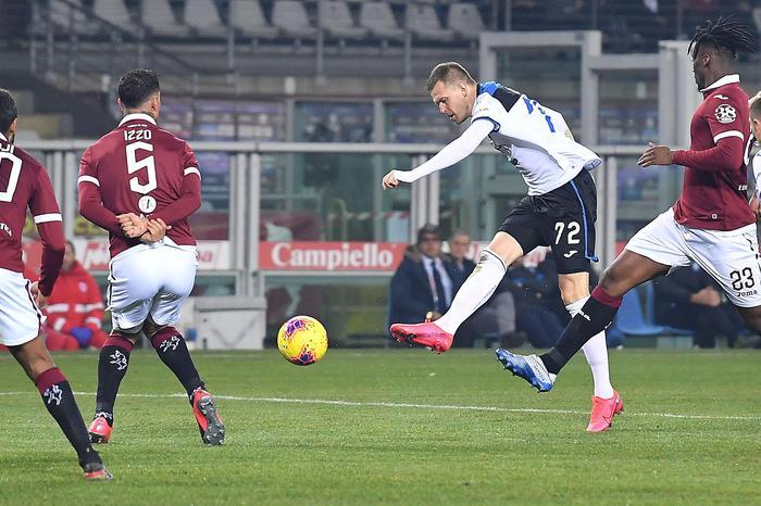 Atalanta travolgente, 7-0 al Torino