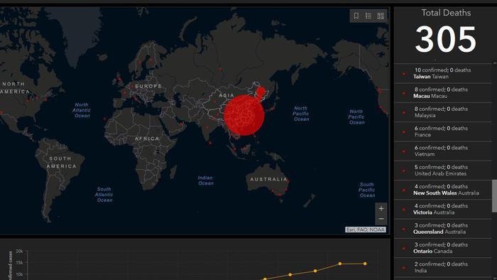 Cartina Mondo Online.Coronavirus Mappa Online Traccia L Evoluzione In Tempo Reale Dell Epidemia Mondo Ansa