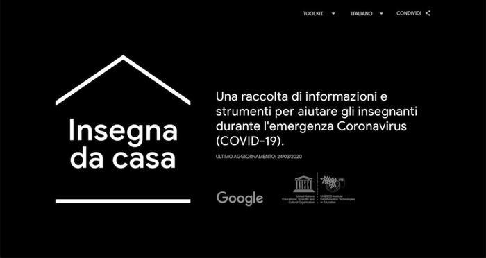 Coronavirus, da Google piattaforma per docenti - Internet e Social