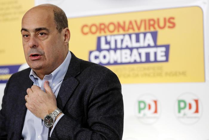 """Zingaretti annuncia, """"sono guarito"""" thumbnail"""