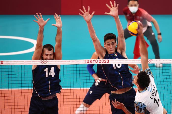 Tokyo: pallavolo maschile, Italia eliminata nei quarti