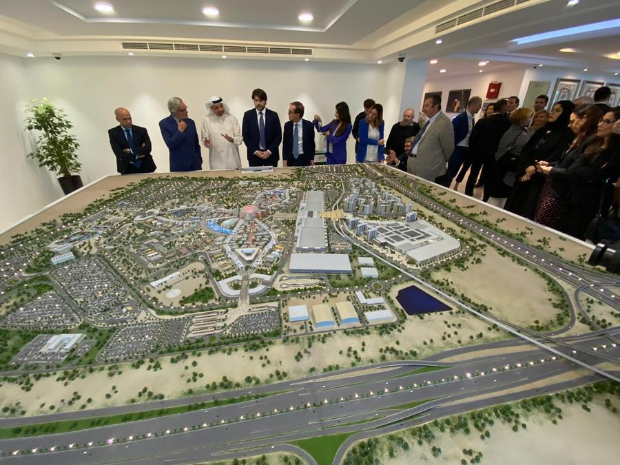 Expo 2020: posa prima pietra Padiglione Italia a Dubai