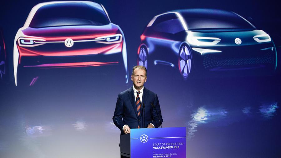 Production beginn of Volkswagen ID.3 electric car © Ansa
