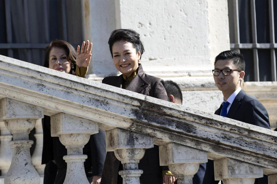 First Lady Peng Liyuan © Ansa