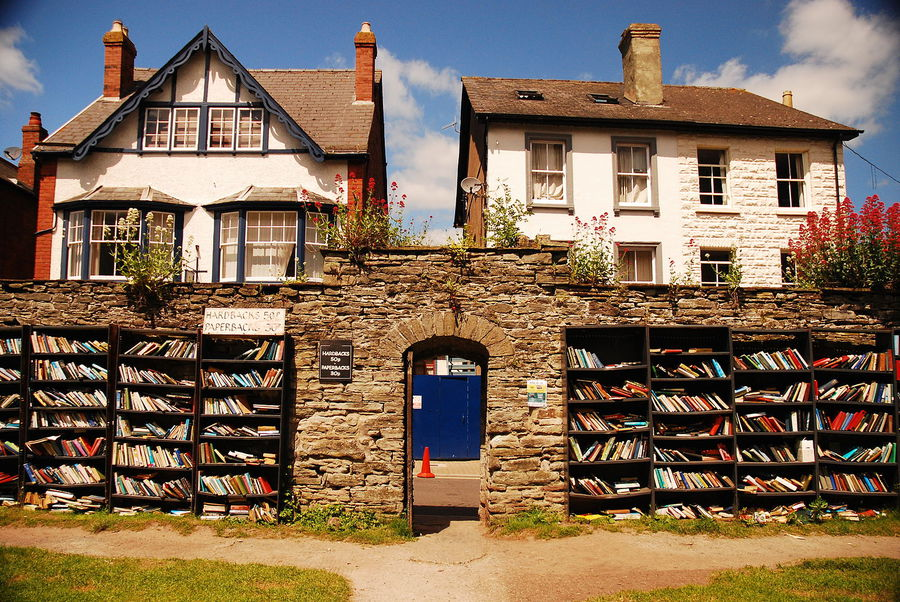 Honesty Bookshop, Hay-on-Wye (Galles) © Ansa