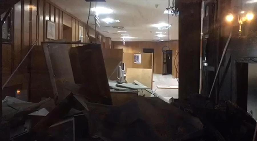 Assalto Con Esplosivo A Bancomat Foggia Ingenti Danni Primopiano