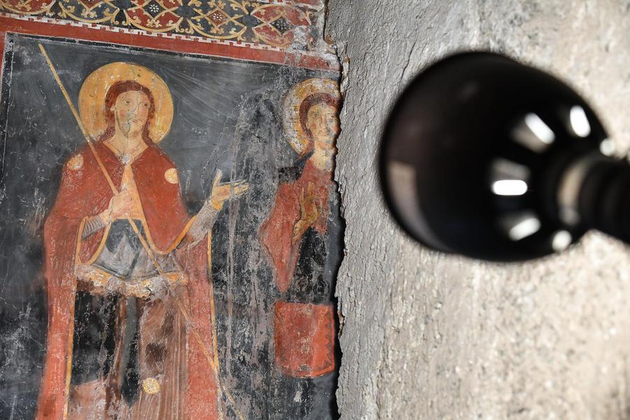 Roma: ritrovato affresco medievale di quasi mille anni