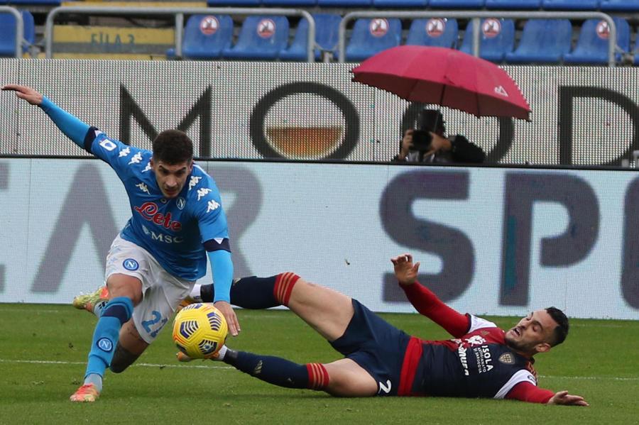 Cagliari-Napoli: le parole di Di Francesco