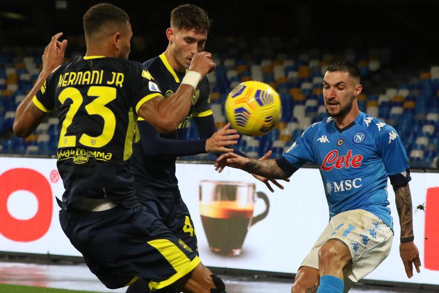 PAGELLE Napoli-Parma 2-0: voti e tabellino Serie A 2020/2021
