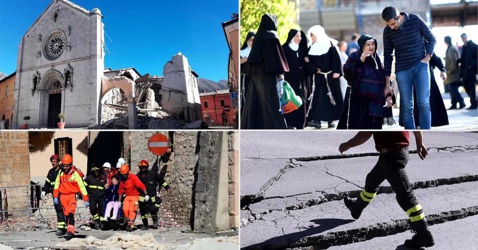 Dopo il terremoto (ANSA)