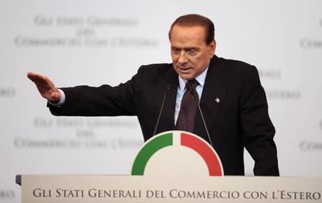 Nei Tg  il Berlusconi-pensiero : all'Euro non ha mai creduto nessuno...