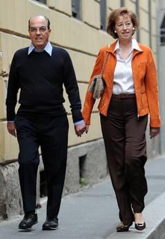 promo code 071ad a0074 Letizia Moratti al seggio con il marito - Photostory ...