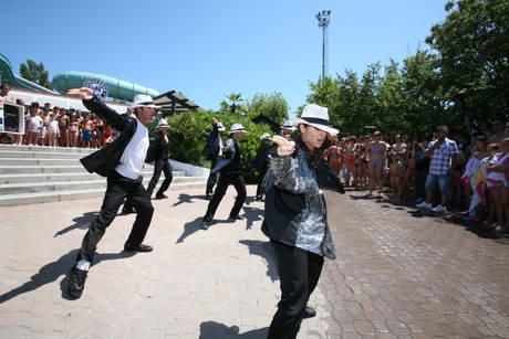 Il ballo in onore di Michael Jackson