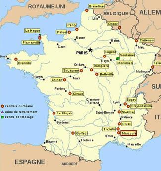 La Mappa Delle Centrali Nucleari In Francia Photostory Primopiano