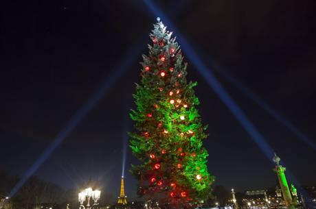 Albero Di Natale Grande.A Parigi L Albero Di Natale Piu Grande D Europa Photostory