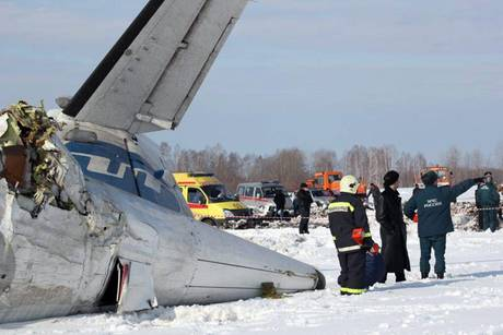 ATR-72 airliner crash outside Tyumen