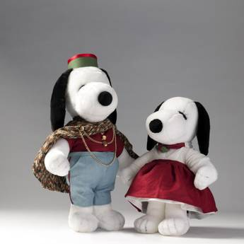 SNOOPY & BELLE IN FASHION - SNOOPY E BELLE - CAMICIE ROSSE C