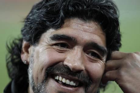 Maradona fisco italiano