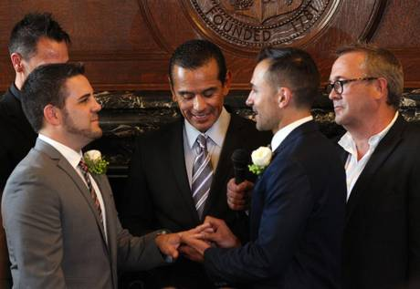 Same sex marriages resume in California following US Court Supreme ruling