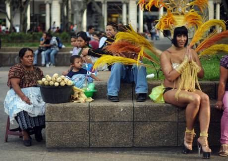 GAY PRIDE PARADE IN GUATEMALA
