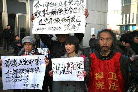 Cina, condannato attivista
