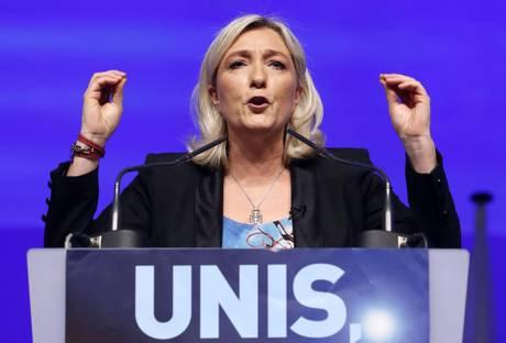 Francia le pen lancia il fronte anti ue noi e grillo - Siamo troppo diversi ...