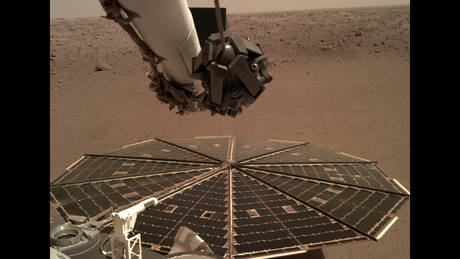 InSight ha registrato il vento marziano — NASA