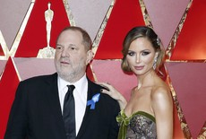 Harvey Weinstein con Georgina Chapman