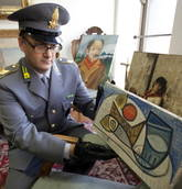 Police find more art hidden by Tanzi